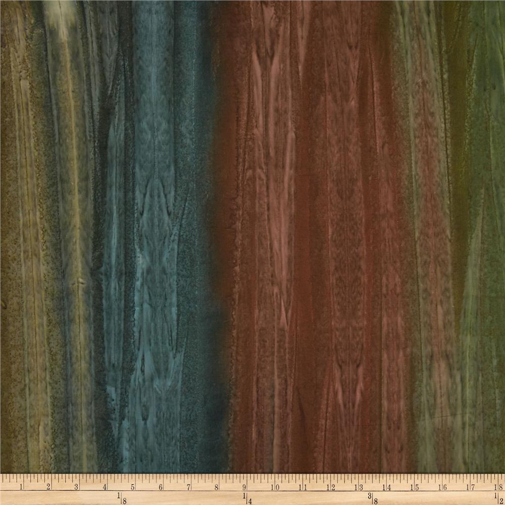 Kaufman Artisan Handpaints Ombre Stripe Earth