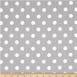 Moda Dottie Medium Dots Steel