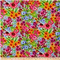 Lennie Honcoop Prairie Gate Large Allover Floral Pink