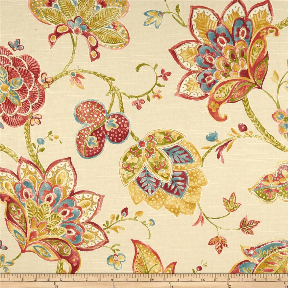 Richloom jubilant blossom discount designer fabric for Fabric purchase