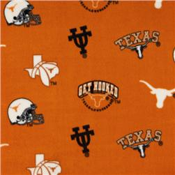 Collegiate Fleece University of Texas Tossed
