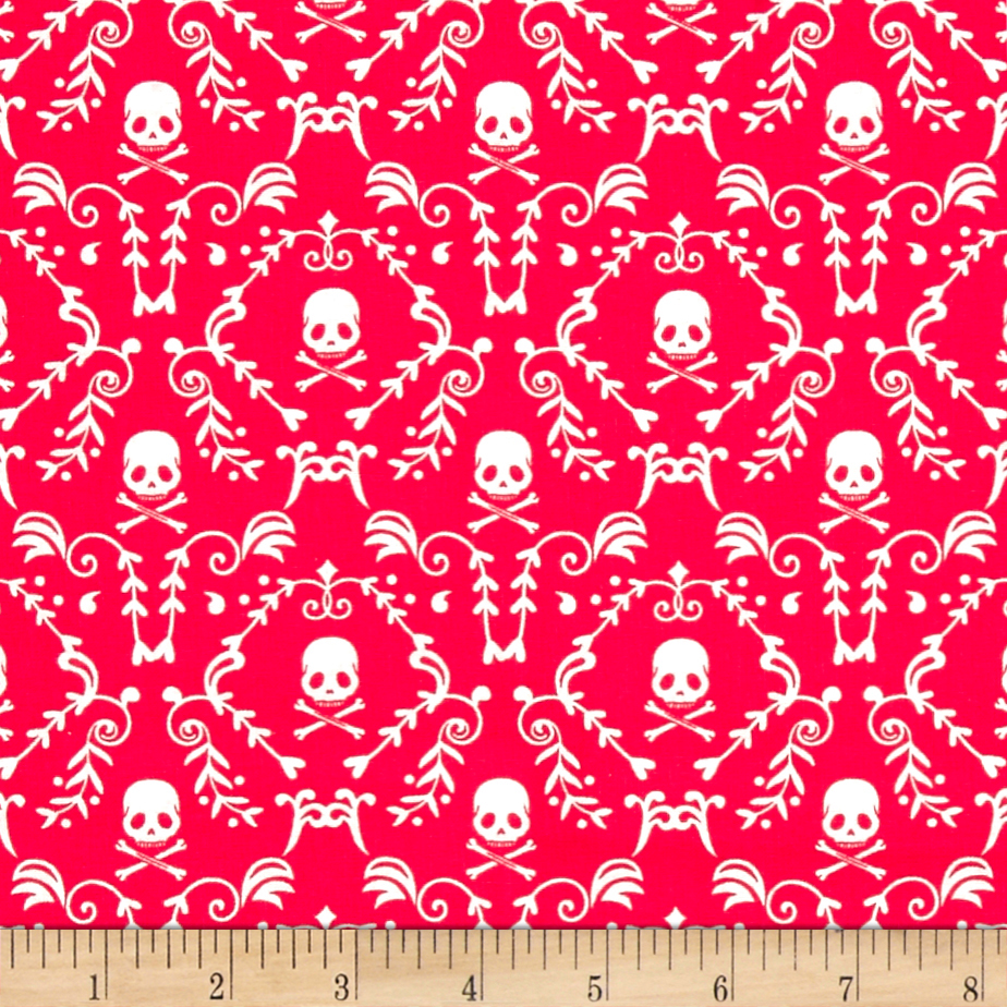 Image of Punk Rock Damask Fabric