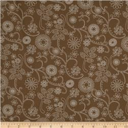 110'' Wide Quilt Backing Signature Taupe Fabric