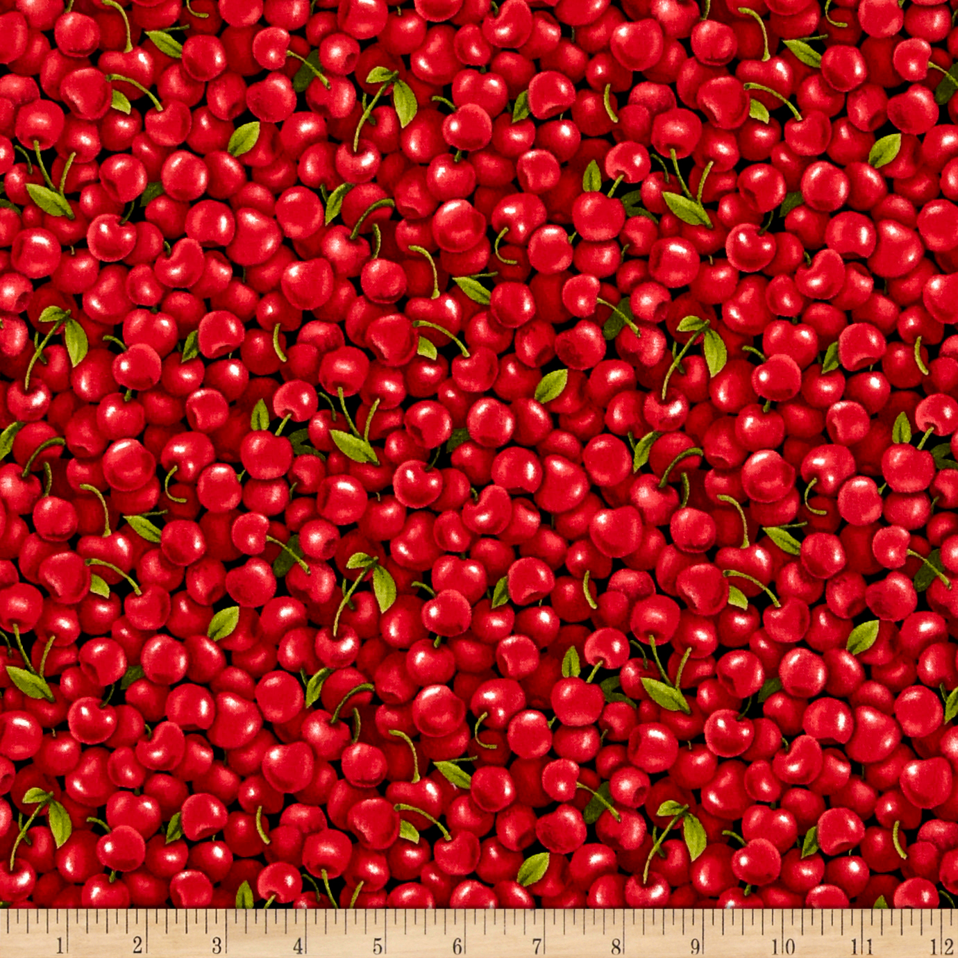 INOpets.com Anything for Pets Parents & Their Pets Farmer John Garden Cherries Fabric