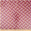 Kathy Davis Happiness Laminate Swirly Fuchsia