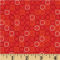 Spot On Circle In A Line Tangerine