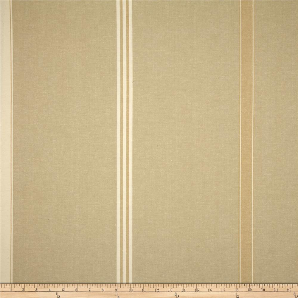 Benartex Home Corfu Stripe Hemp/Natural