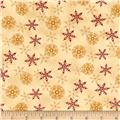 Moda Rejoice In The Season Layered Snowflakes Parchment