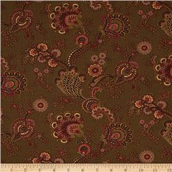 Moda Collections for a Cause Mill Book 1892 Flourish Walnut