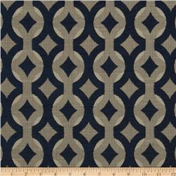 Swavelle/Mill Creek Talvin Jacquard Indigo Fabric