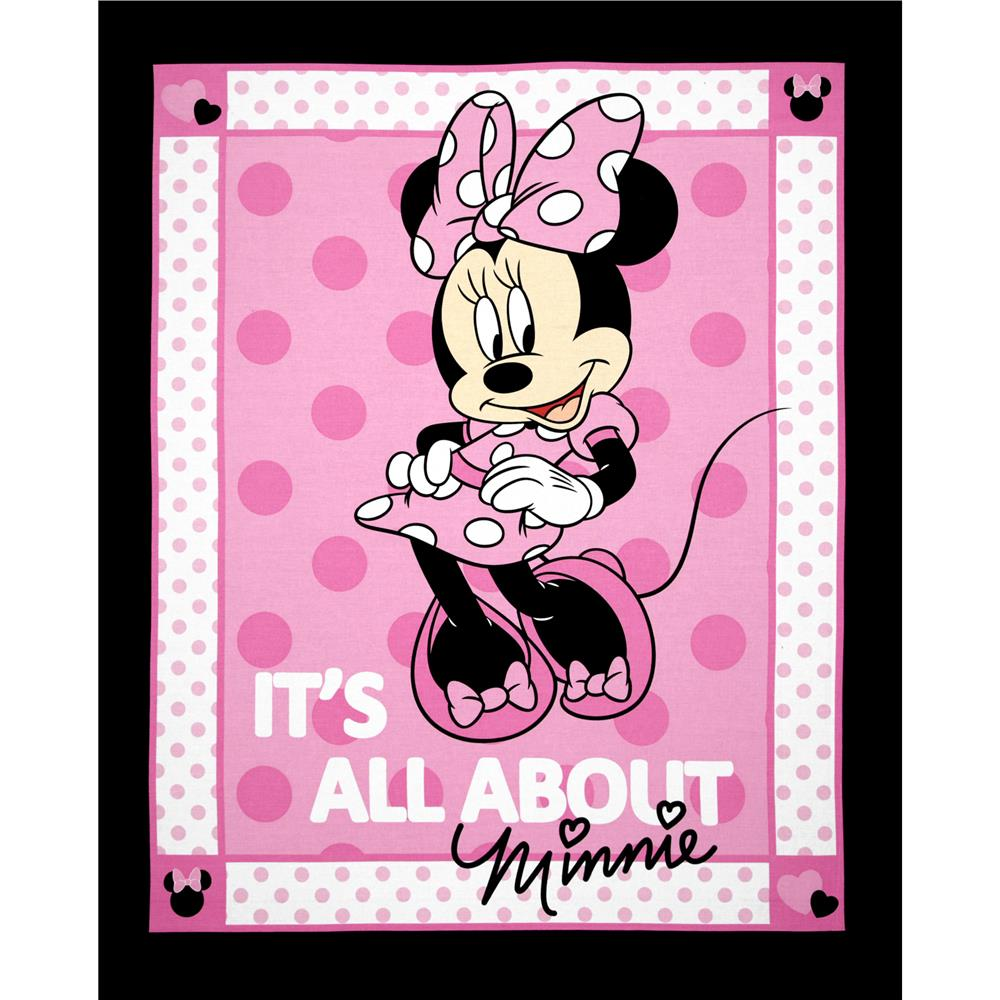 Disney Minnie Bowtique It's All About Minnie Patch