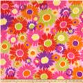 Polar Fleece Print  Anouk Flower Power Pink