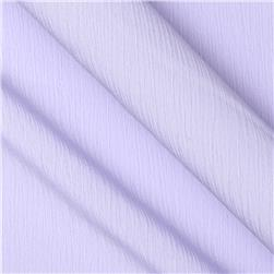 Lyric Wide Crinkle Polyester Shirting Lavender