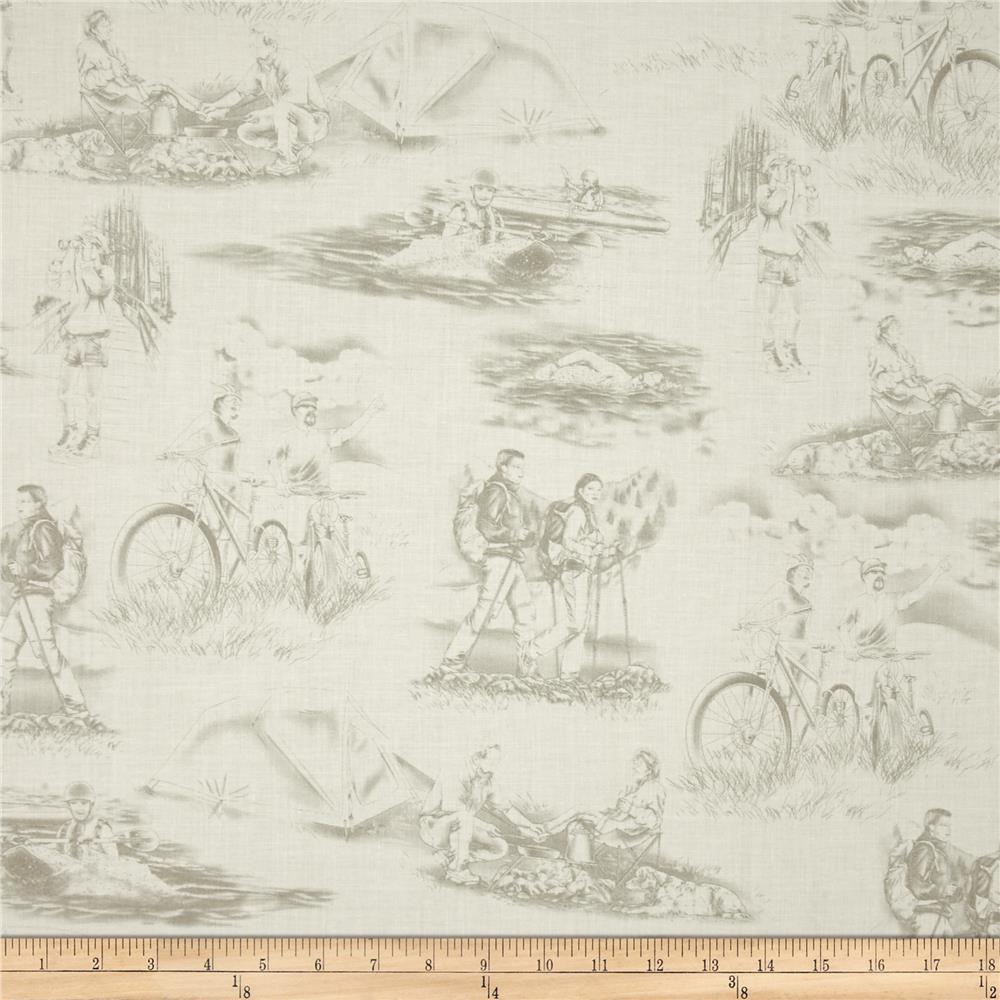 Our National Parks Toile Tan