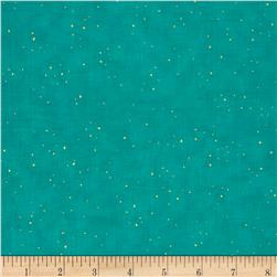 Shiny Objects Oasis Metallic Flurries Teal