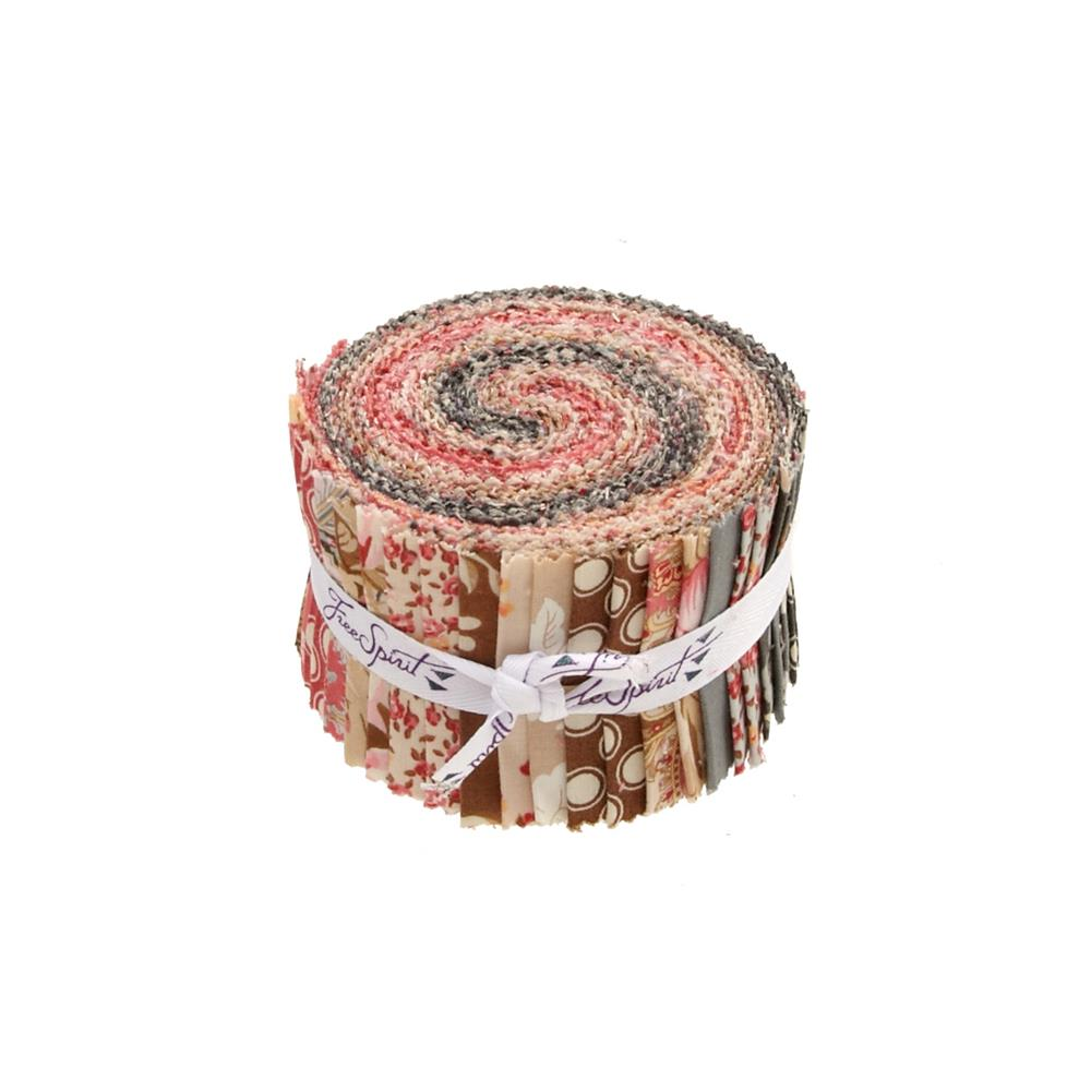 Verna Mosquera Rustic Blush 2.5 In Design Rolls