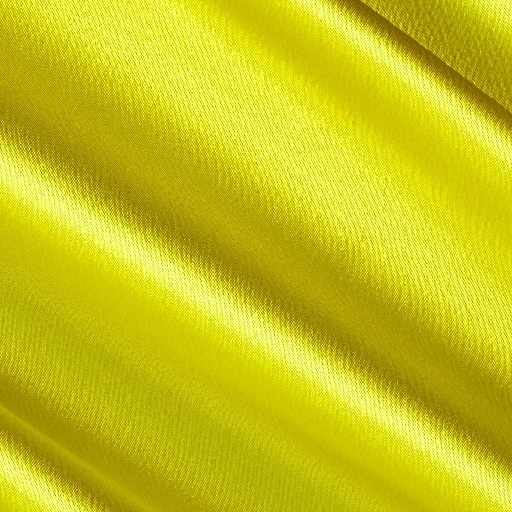 Stretch Crepe Back Satin Canary