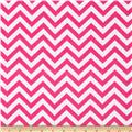 Flannel Chevron Pink/White