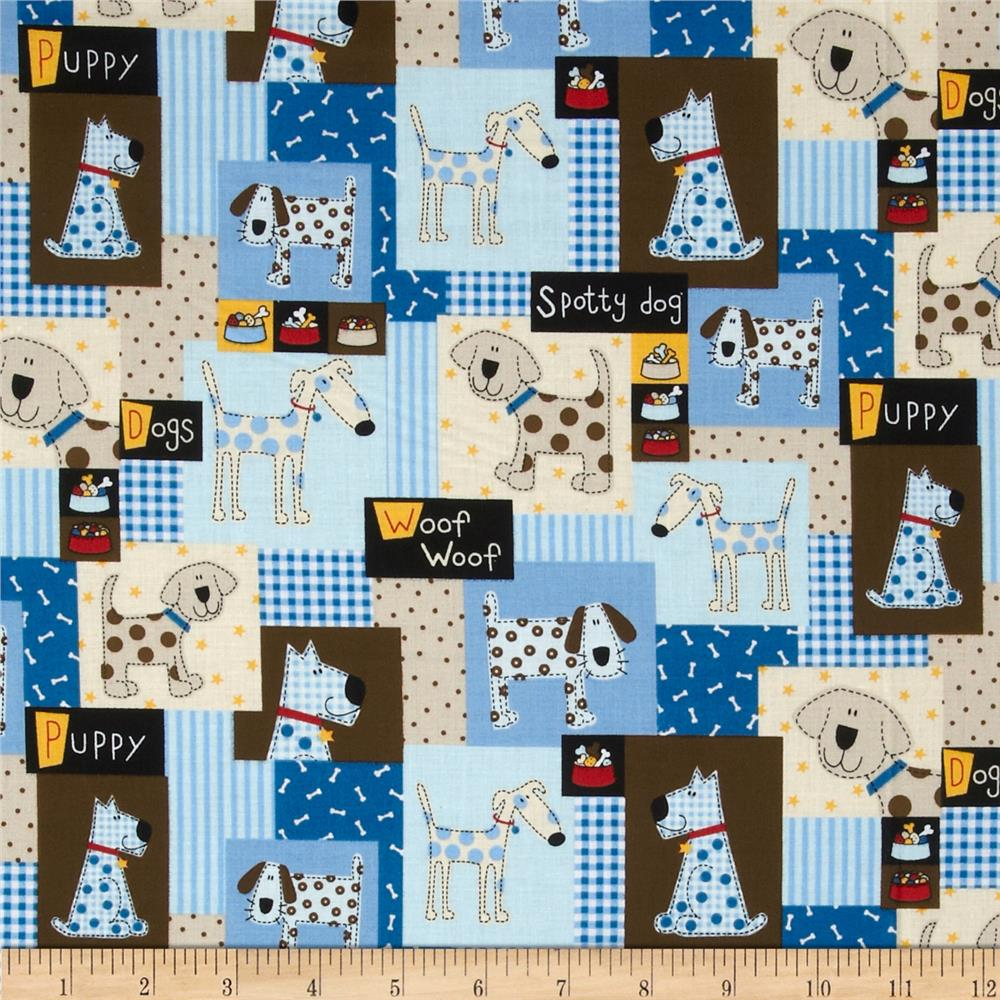 Doggie Patchwork Multi