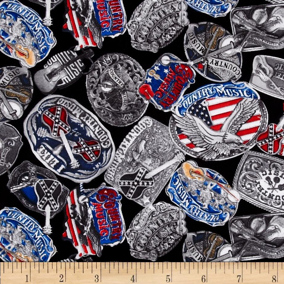 Rock Legends CMA Buckles Silver