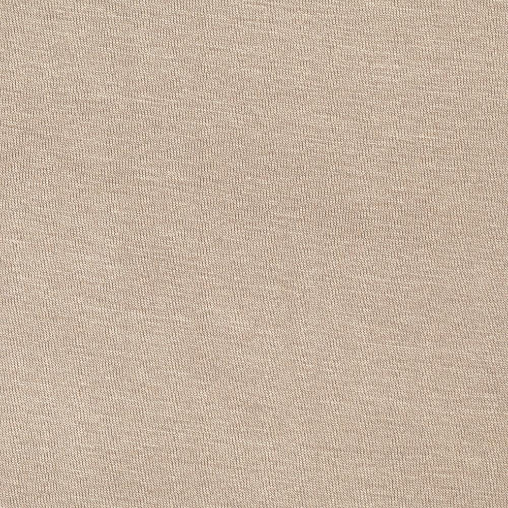 Stretch Rayon Jersey Knit Light Taupe