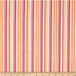 Riley Blake Fine & Dandy Stripe Pink