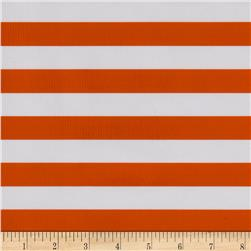 Oil Cloth Stripes Orange