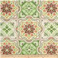 Waverly Tapestry Tile Spring