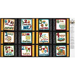 It's Elementary Soft Book Panel Black