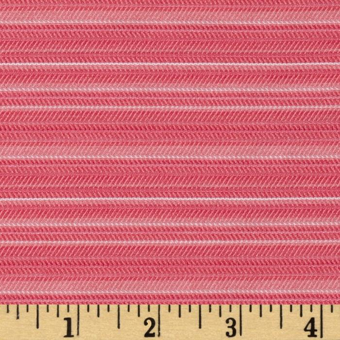 Designer Stretch Suiting Stripes Candy Pink