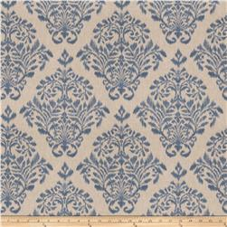 Fabricut Tact Damask Basketweave Denim
