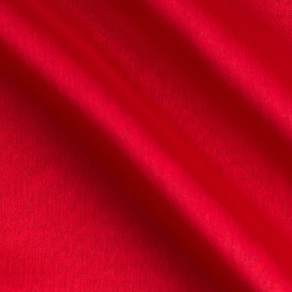 Poly Two Tone Chiffon Red Fabric by Richland in USA