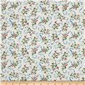 Bluebird Gathering Colorful Scroll Cream/Multi