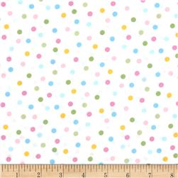 Remix Tossed Dots Spring Fabric