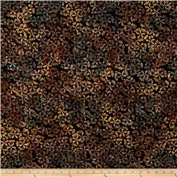 Benartex Balis Batik Aloha Pitter Patter Chocolate