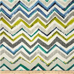 Contempo Cachet Zig Zag Green/Grey