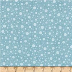 Wise One Flannel Dot Blue
