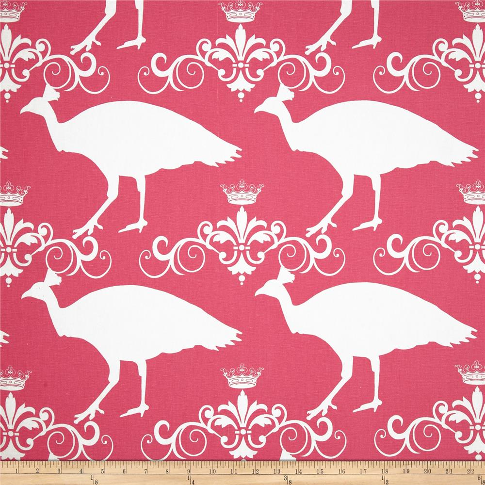 Premier Prints Peacock Candy Pink