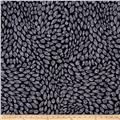 Kanvas Natures Pearl Pearlescent Shadow Leaf Black/Gray