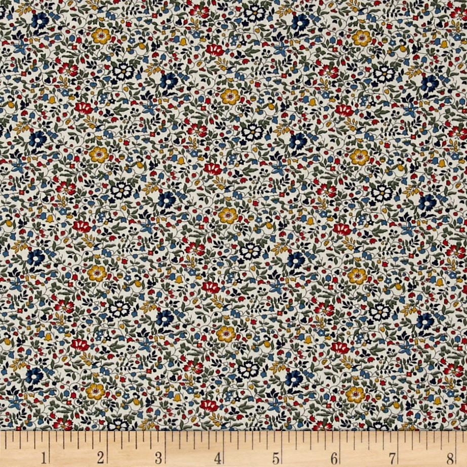 Liberty of London Classic Tana Lawn Katie and Millie Multi/Blue