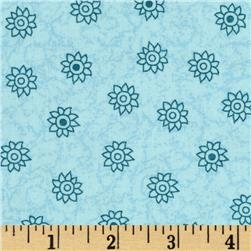 Oasis Small Flower Blue