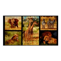 "Kaufman Nature Studies African 23.5"" Panel Wild"