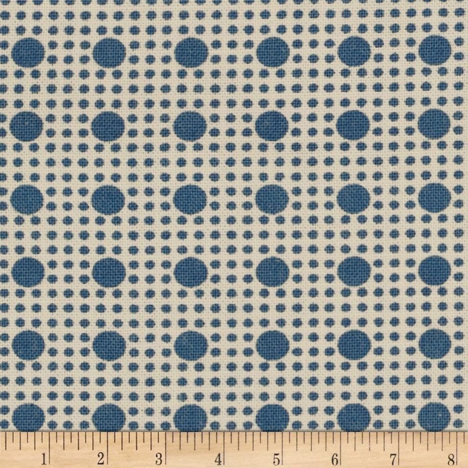 Moda Lexington Double Polka Dot Light Blue