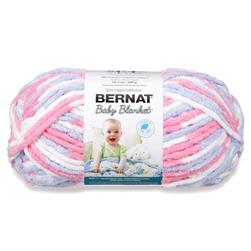 Bernat Baby Blanket  Big Ball Yarn (04305) Pink/Blue