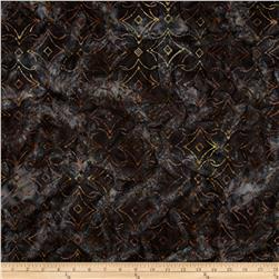 Kaufman Artisan Batiks Rivoli Triangle Plaid Earth
