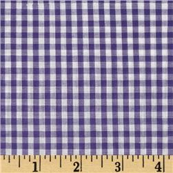 Gingham 1/8'' Checks Galore Purple