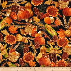 Autumn Delight Pumpkins & Gourds Multi