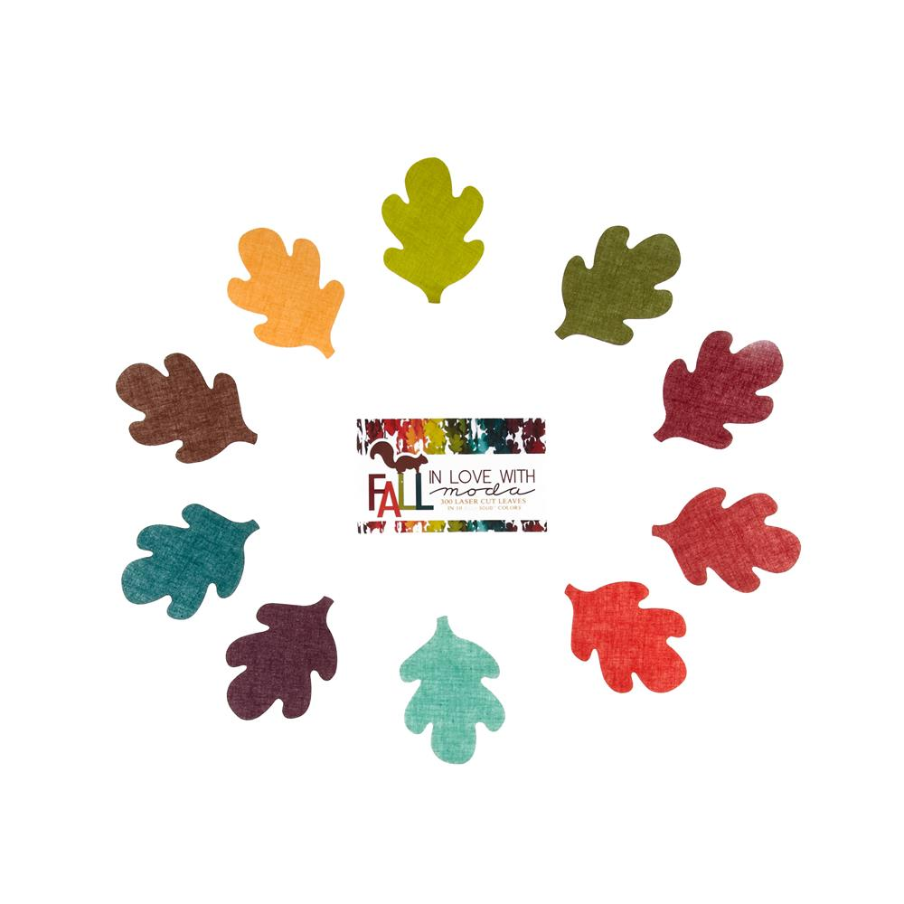 Moda Bella Solids Display Leaves Die Cut Assortment
