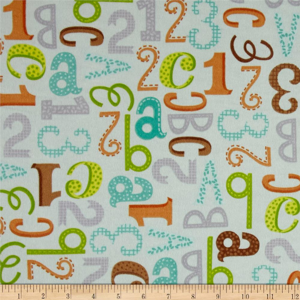 Jungle Jubilee Alphabet Blue