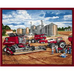 Case IH Refueling Panel Fabric